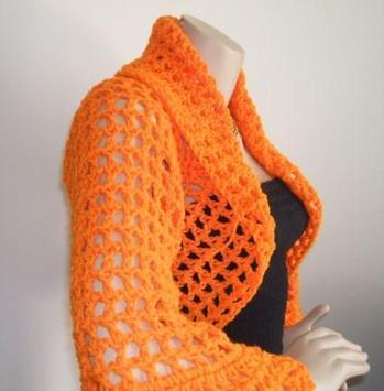 Crochet Bolero Design screenshot 9