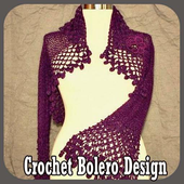 Crochet Bolero Design icon