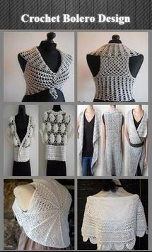 Crochet Bolero Design screenshot 1