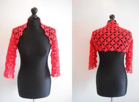 Crochet Bolero Design screenshot 4