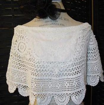 Crochet Bolero Design screenshot 5