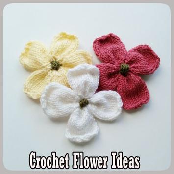 Crochet Flower Ideas poster