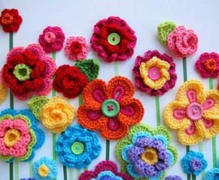 Crochet Flower Ideas apk screenshot