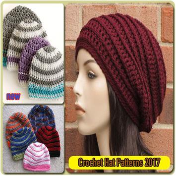 Crochet Hat Patterns 2017 poster
