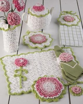 Crochet Kitchen Set Decoration apk screenshot