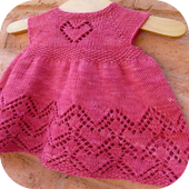 Crochet Pattern Baby Dress icon