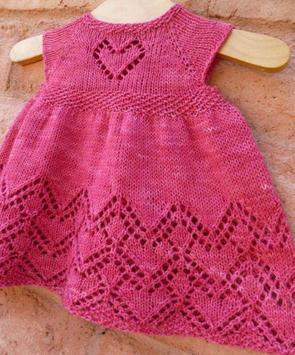 Crochet Pattern Baby Dress poster