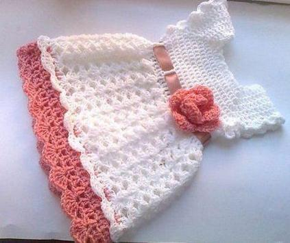 Crochet Pattern Baby Dress apk screenshot