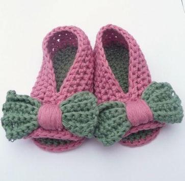 Crochet Pattern Baby Slippers Icon screenshot 3