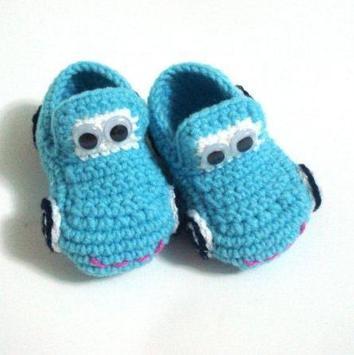Crochet Pattern Baby Slippers Icon screenshot 1