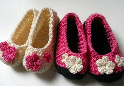 Crochet Pattern Baby Slippers Icon screenshot 2