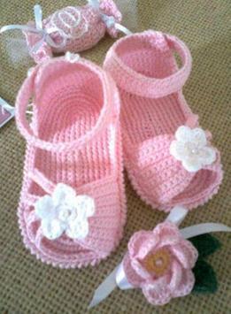 Crochet Pattern Baby Slippers Icon screenshot 5