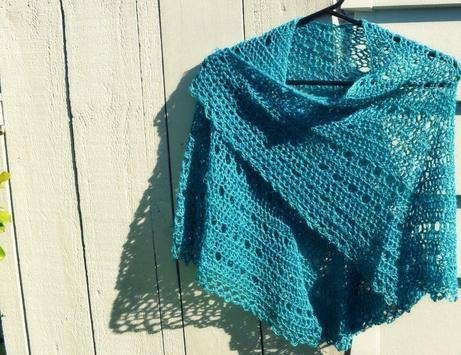Crochet Pattern Shawl Designs screenshot 3