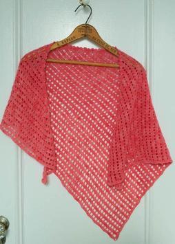 Crochet Pattern Shawl Designs screenshot 1