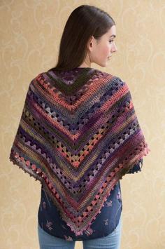 Crochet Pattern Shawl Designs screenshot 2