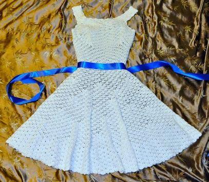 Crochet Pattern Women Dress poster
