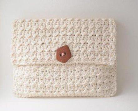 Crochet Stitch Pattern poster