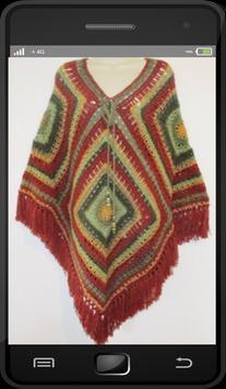 Crochet Poncho Patterns screenshot 2