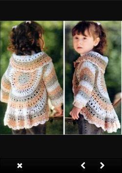 Crochet Sweater Patterns screenshot 3