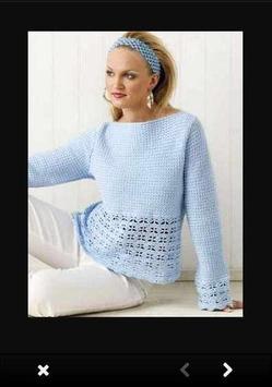 Crochet Sweater Patterns poster