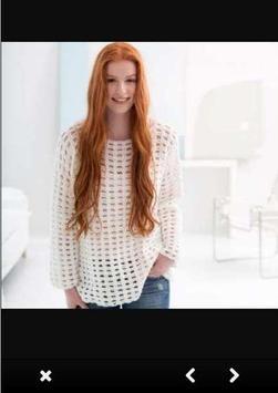 Crochet Sweater Patterns screenshot 1
