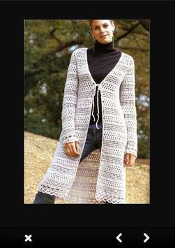 Crochet Sweater Patterns screenshot 2