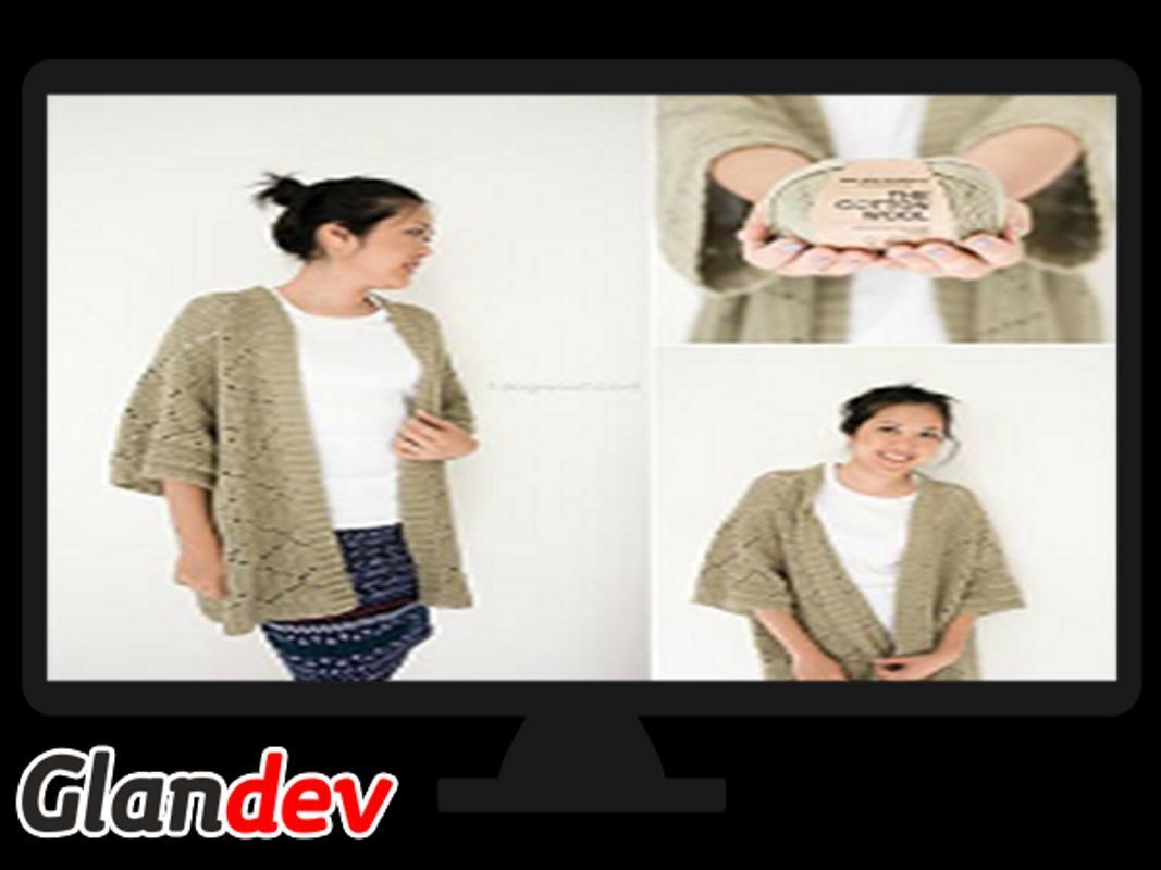 Patrones de suéter de ganchillo for Android - APK Download
