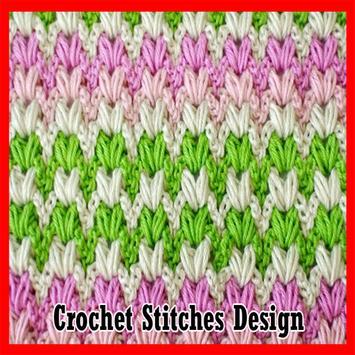 Crochet Stitches Design poster