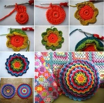 Crochet design ideas poster