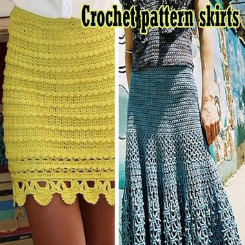 crochet pattern skirts poster