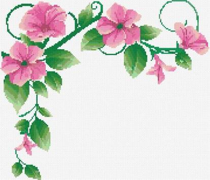 Cross Stitch Flowers apk screenshot