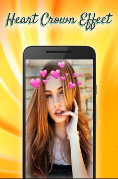 heart crown sticker screenshot 10