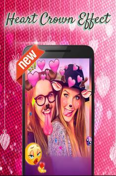 heart crown sticker screenshot 7