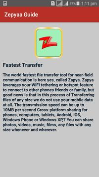 Guide for Zapya 2017 file Transfer and sharing screenshot 4