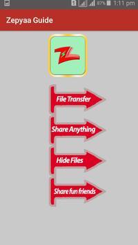 Guide for Zapya 2017 file Transfer and sharing screenshot 1