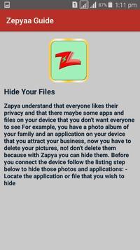 Guide for Zapya 2017 file Transfer and sharing screenshot 2