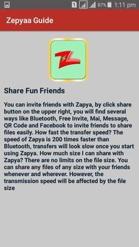 Guide for Zapya 2017 file Transfer and sharing screenshot 3