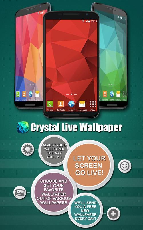 crystal live wallpaper apk download free personalization