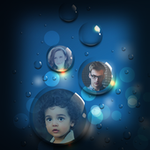 Bubbles Photos Live Wallpapers icon