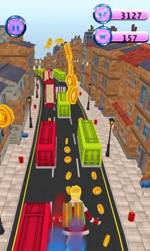 Subway Princes Rush Run 3D poster