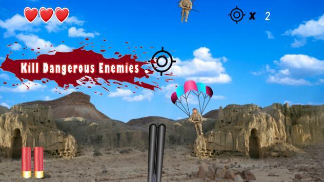 Enemy Shoot down - Modern War poster