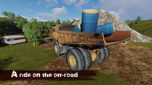 Dump Truck Off-Road 3D poster