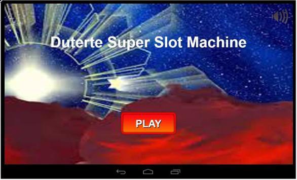 Duterte Super Slot Machine poster