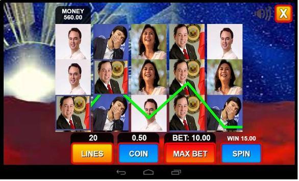 Duterte Super Slot Machine screenshot 2