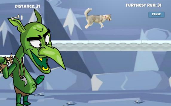 Husky Run Lite apk screenshot