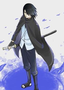 Sasuke Uchiha Wallpaper HD Offline Poster Screenshot 1