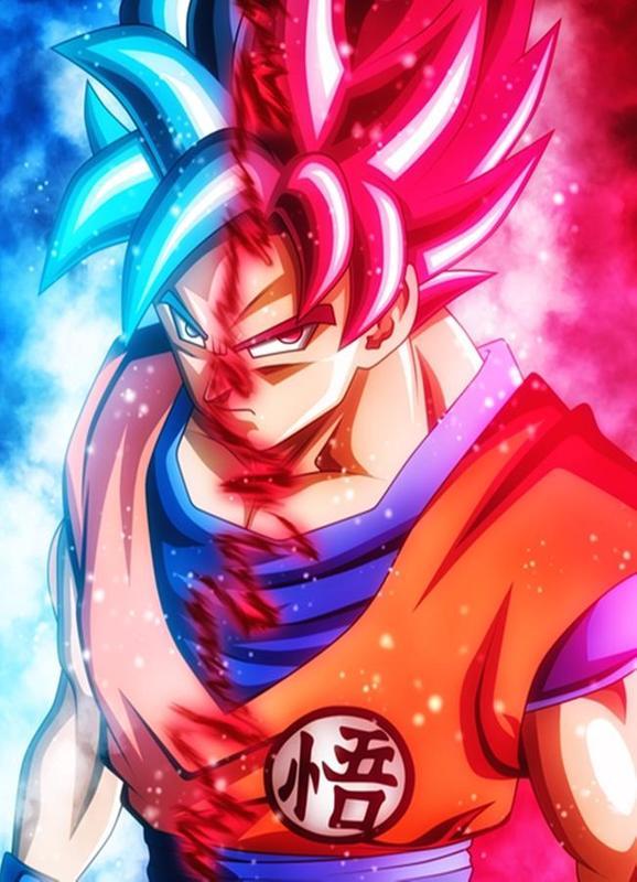 DBS Goku Wallpaper HD Free Screenshot 1