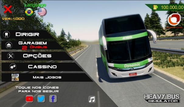 Heavy Bus Simulator captura de pantalla 3
