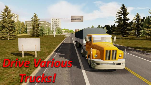 Heavy Truck Simulator apk screenshot
