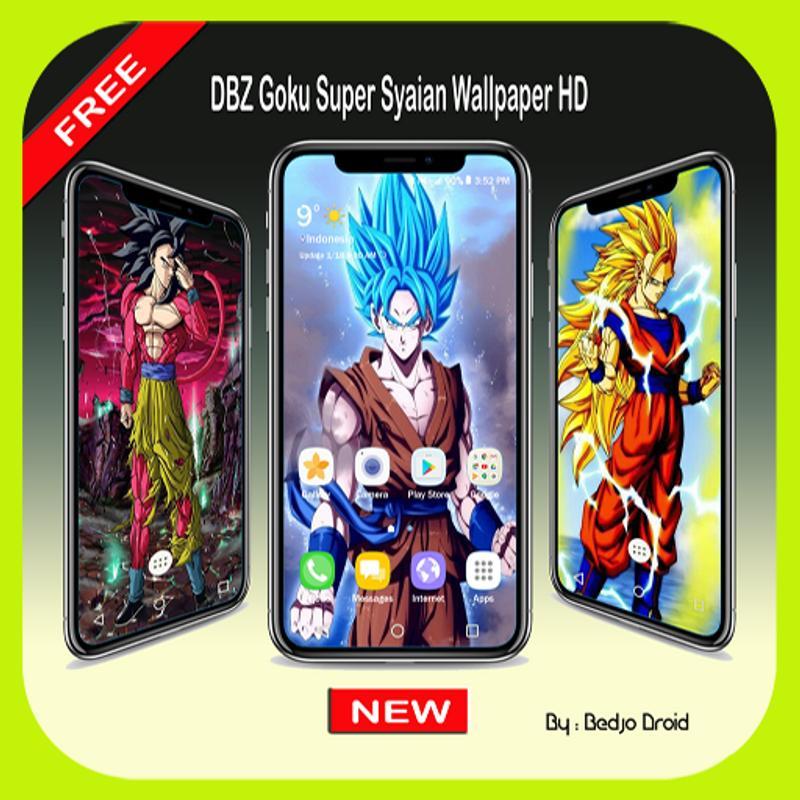 DBZ Goku Super Syaian Wallpaper HD For Android